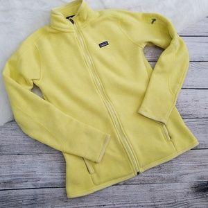 Patagonia Better Sweater Yellow Zip Jacket